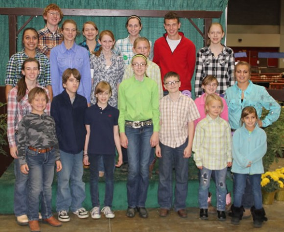 Junior Shetland Exhibitors at NAILE 2011
