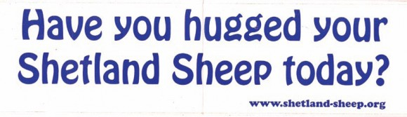 Shetland Bumper Sticker