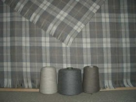 NASSA Tartan Fabric and Yarn